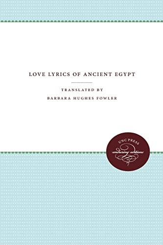 9780807844687: Love Lyrics of Ancient Egypt