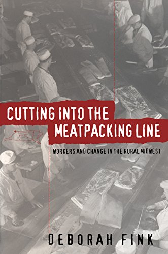 9780807846957: Cutting Into the Meatpacking Line: Workers and Change in the Rural Midwest (Studies in Rural Culture)