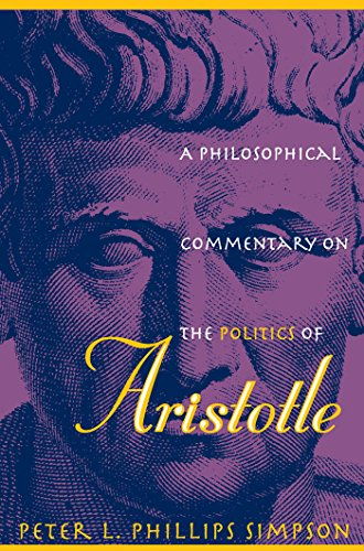 9780807853573: A Philosophical Commentary on the Politics of Aristotle