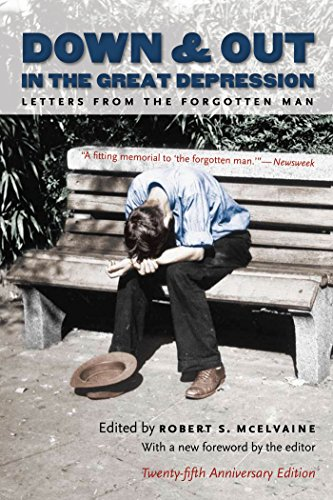 9780807858912: Down and Out in the Great Depression: Letters from the Forgotten Man
