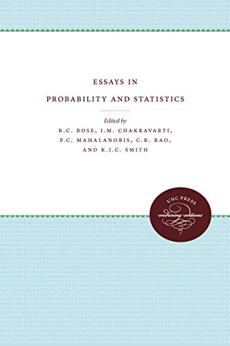9780807879795: Essays in Probability and Statistics (Monograph Series in Probability and Statistics)