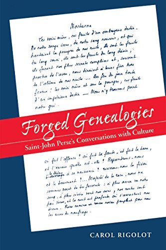 9780807892756: Forged Genealogies: Saint-John Perse's Conversations with Culture