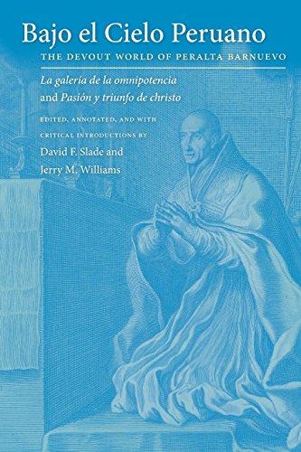 Bajo El Cielo Peruano: The Devout World of Peralta Barnuevo (Paperback)
