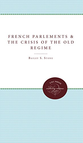 9780807897898: The French Parlements and the Crisis of the Old Regime