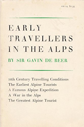 9780807900420: Early Travellers in the Alps