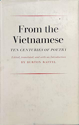 9780807900529: From the Vietnamese: Ten Centuries of Poetry