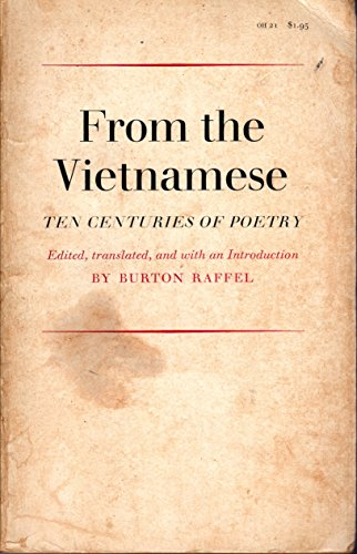 9780807900536: From the Vietnamese: Ten Centuries of Poetry