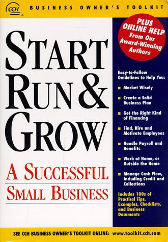 9780808001560: Start, Run & Grow a Successful Small Business