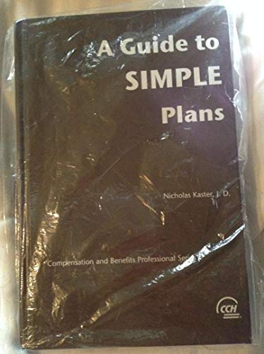 A Guide to SIMPLE Plans