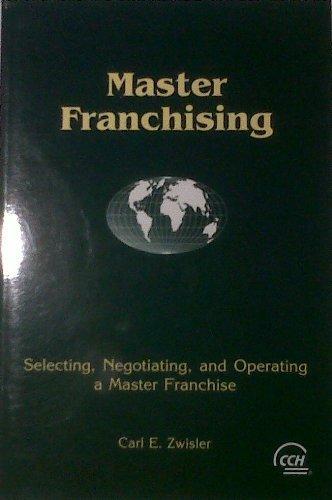 9780808003687: Master Franchising