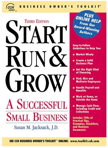 9780808004134: Start, Run & Grow a Successful Small Business