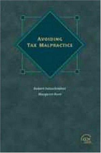 9780808005339: Avoiding Tax Malpractice