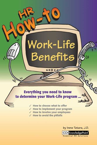 9780808008453: HR How-To: Work Life Benefits