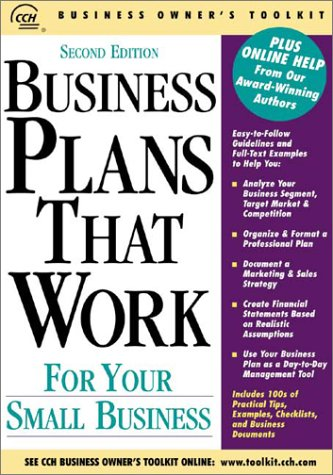9780808008583: Business Plans That Work for Your Small Business (Business Owner's Toolkit series)