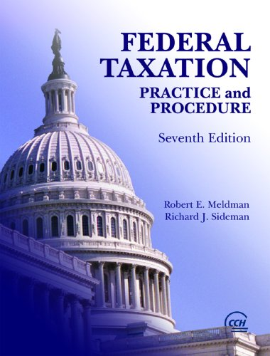 9780808011422: Federal Taxation Practice and Procedure 7th Edition