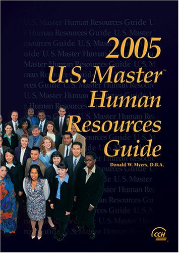 9780808012146: U.S. Master Human Resources Guide, 2005 Edition