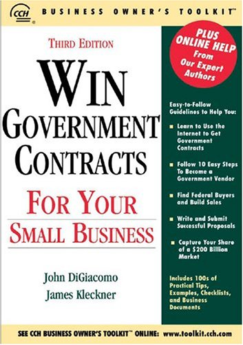 9780808012252: Win Government Contracts for Your Small Business (Business Owner's Toolkit series)