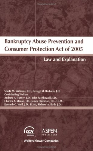 9780808013051: Bankruptcy Abuse Prevention