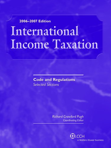 9780808015086: International Income Taxation: Code and Regulations--Selected Sections