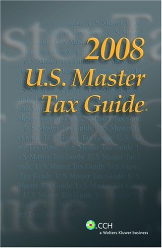 9780808017011: U.S. Master Tax Guide 2008