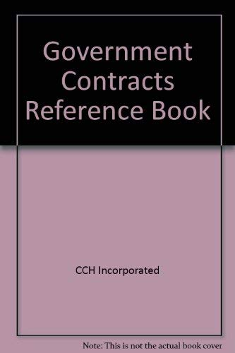9780808017394: Government Contracts Reference Book