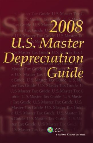 9780808018001: U.S. Master Depreciation Guide (2008)