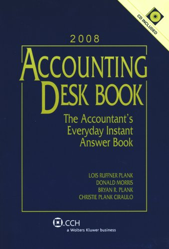 9780808018124: Accounting Desk Book with CD (2008)
