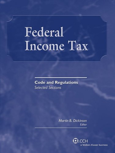 9780808018636: Federal Income Tax: Code and Regulations--Selected Sections (2008-2009)