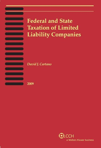 9780808019138: Federal and State Taxation of Limited Liability Companies (2009)