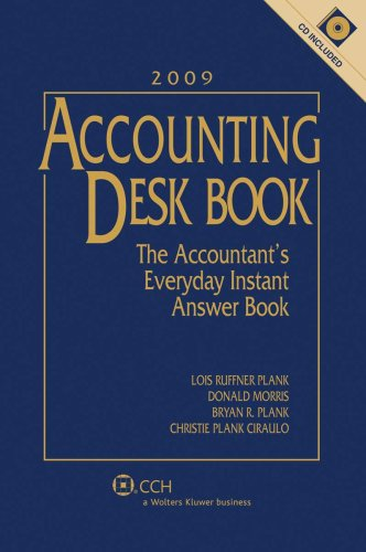 9780808019404: Accounting Desk Book with CD (2009)