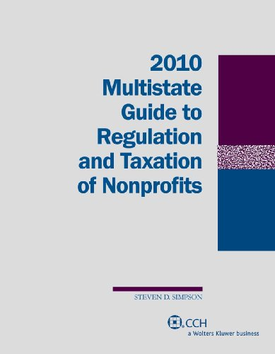 9780808020189: Multistate Guide to Regulation and Taxation of Nonprofits (2010)