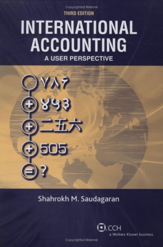 9780808020585: International Accounting: A User Perspective
