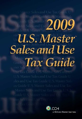 9780808020769: U.S. Master Sales and Use Tax Guide (2009)
