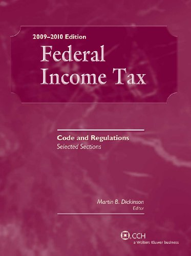9780808021384: Federal Income Tax: Code and Regulations--Selected Sections (2009-2010)