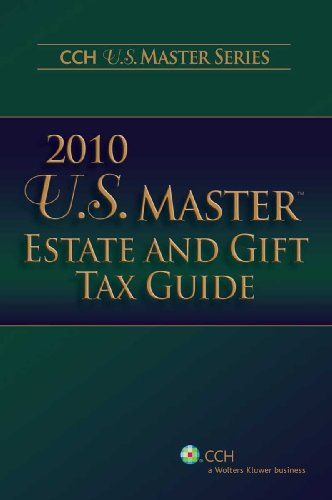9780808022213: U.S. Master Estate and Gift Tax Guide, 2010