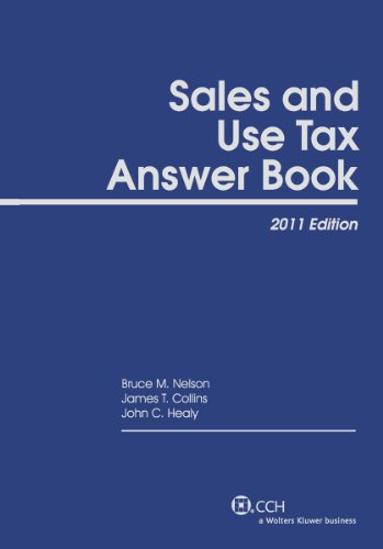 9780808023067: Sales and Use Tax Answer Book (2011)