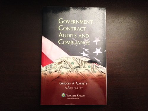 9780808023920: Government Contracts Audits and Compliance