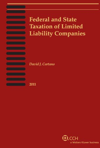 9780808024361: Federal and State Taxation of Limited Liability Companies (2011)