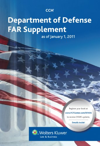 Department of Defense Far Supplement (Dfars) as of January 1, 2011 (Paperback)