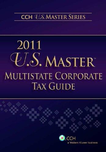 9780808024583: U.S. Master Multistate Corporate Tax Guide (2011)