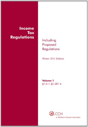9780808024798: Income Tax Regulations (Winter 2011), December 2010