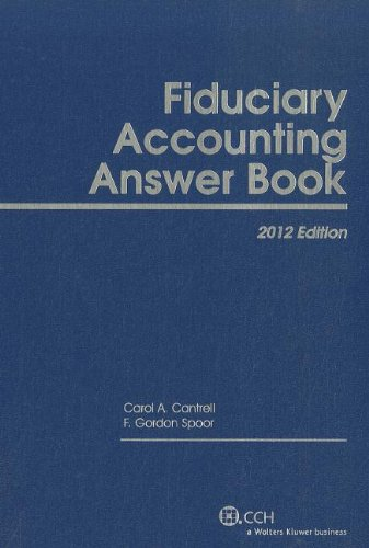 9780808025900: Fiduciary Accounting Answer Book (2012)