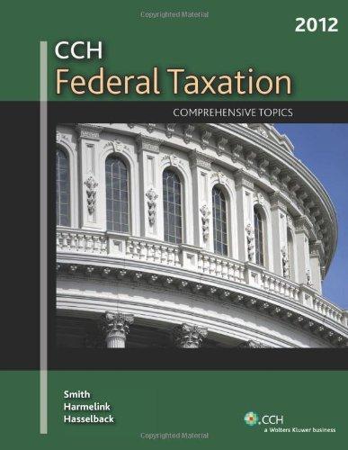 9780808026198: Federal Taxation: Comprehensive Topics (2012)