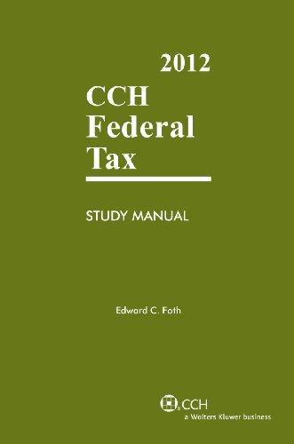 9780808026211: Federal Tax Study Manual (2012)