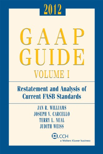 GAAP Guide (2012) - Includes Top Federal: Jan R. Williams,