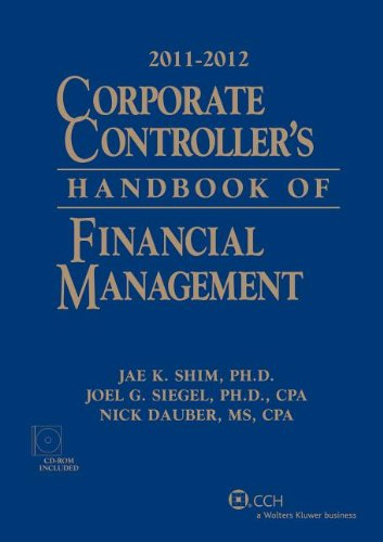 9780808026570: Corporate Controller's Handbook of Financial Management (2011-2012) W/CD-ROM
