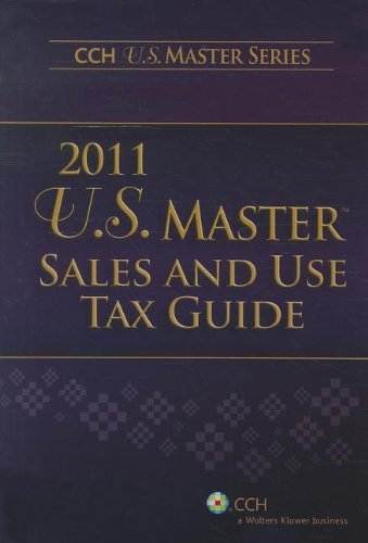 9780808026693: U.S. Master Sales and Use Tax Guide (2011)