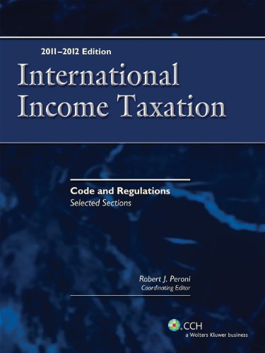 9780808026884: International Income Taxation: Code and Regulations - Selected Sections (2011-2012)