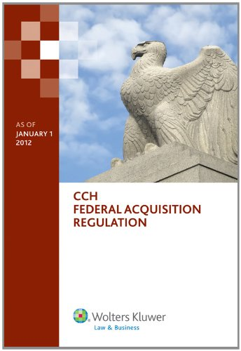 9780808028925: Federal Acquisition Regulation (FAR) as of January 1, 2012