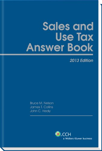 9780808030324: Sales and Use Tax Answer Book (2013)